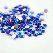 SS3-SS20 Sapphire AB Nail Rhinestones,1440pcs Flat Back Non Hotfix Glitter Nail Stones,DIY 3d Nail Phones Decorations Supplies(China)
