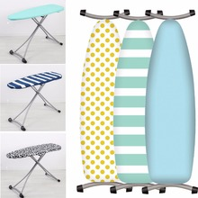 Home Textile Printed Cotton Padded Ironing Board Cover Heavy Duty Heat Reflective Scorch Resistant 40 x 130cm(China)