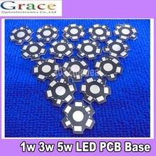 200pcs 1W 3W 5W High Power LED PCB Aluminum Star base plate Circuit board DIY(China)