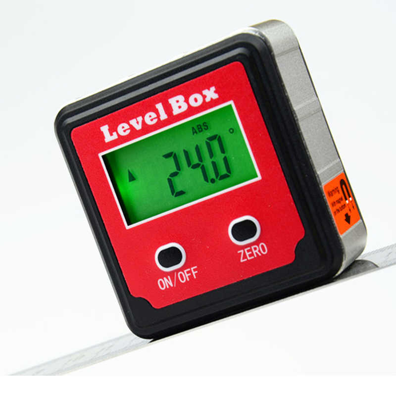 Digital Angle Finder >> Detail Feedback Questions About 360 Degree Red Precision Digital