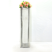 Free shipping Acrylic crystal carved road lead the new road lead the Quartet to send teams to the wedding scene decoration 34inc