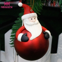 Hot sale Christmas Tree Decoration Balls Ornament Christmas Gift Snowman party supplies home decoration accessories Christmas(China)