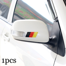 1pcs New style car sticker Germany 3D Epoxy Decorative Badge car body for VW AUDI Skoda Seat Mazda Toyota Lexus Honda Car Emblem(China)