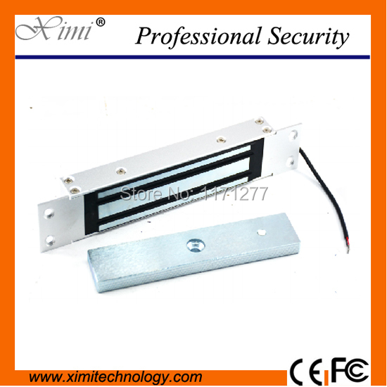 For access controller without door postion detection output embedded electromagnetic lock 180KG 350lbs stainless steel EM lock<br>