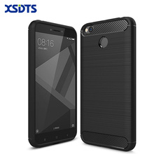 "XSDTS Phone Case For Xiaomi Redmi 4x Case Luxury 360 Full Body Cover Fo Redmi 4x 5.0"" Brushed Silicon TPU Back Cover Case"