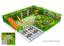 CE Approved Custom-made Indoor Play Equipment Commercial Large Children Playground Set Indoor 150909-A
