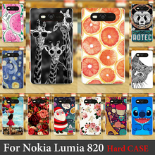 FOR Nokia Lumia 820 4.3 inch High Quality Case Hard Plastic Cellphone Mask Case Protective Cover Housing Skin Mask