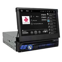 "Quad Core HD 1 din 7"" Universal Android 5.1 Car PC Car DVD Player With 3G built-in wifi Radio/RDS Bluetooth IPOD TV USB AUX IN"