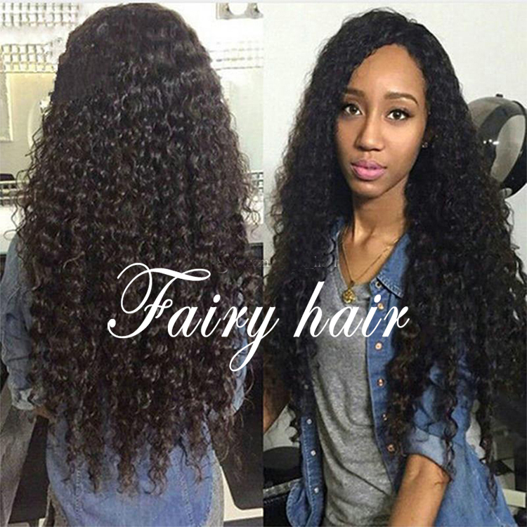 Quality Heat Resistant Fiber Long Black Curly Wig Synthetic Lace Front Wigs Kinky Curly Synthetic Lace Front Wig for Black Women<br><br>Aliexpress