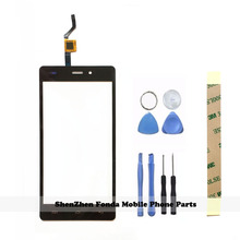 Tools + Tape Original Black Panel Touchscreen Sensor For doogee x5 Touch Screen Glass Digitizer For Doogee X5 Pro Sensor Screen