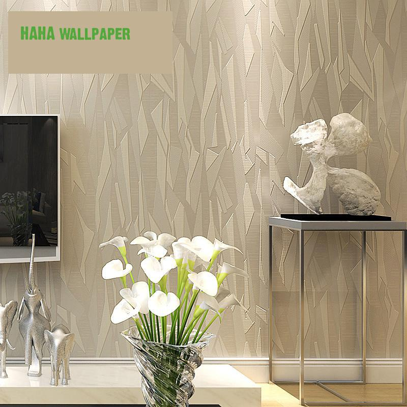 Free Shipping Tv Background Wall Paper 3d Stereo Fringe Non Woven Modern Simple Geometric Pattern 5.3m2<br><br>Aliexpress