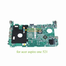 MBSBT06004 DA0ZH9MB6D0 For Acer Aspire one 521 laptop Motherboard Neo II K125 1.7GHz DDR3 ATI Mobility Radeon HD 4225 works