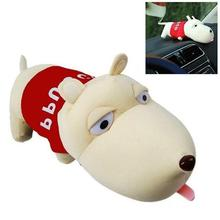 Car Air Fresher Clean Bamboo Charcoal Bag Decoration Long Mouth Dog Random Color New(China)