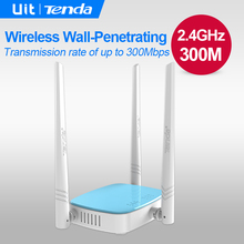 Tenda N315 300Mbps Wireless Router,English Firmware,WiFi Repeater,Home Networking Broadband AP, 4 Ports RJ45 802.11g/b/n
