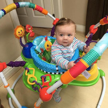 Musical Baby Jumper Activity Center Rainforest Jumperoo Learning Walker Baby Swing