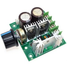PWM DC Motor Speed Regulator Adjustable Speed Control Switch 12V 24V 36V 10A(China)