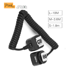 Pixel FC-311 TLL Off-Camera Remote Flash Speedlite Hot Shoe Sync Extension Cord Flashgun Cable For Canon 5D Mark III 1100D 650D