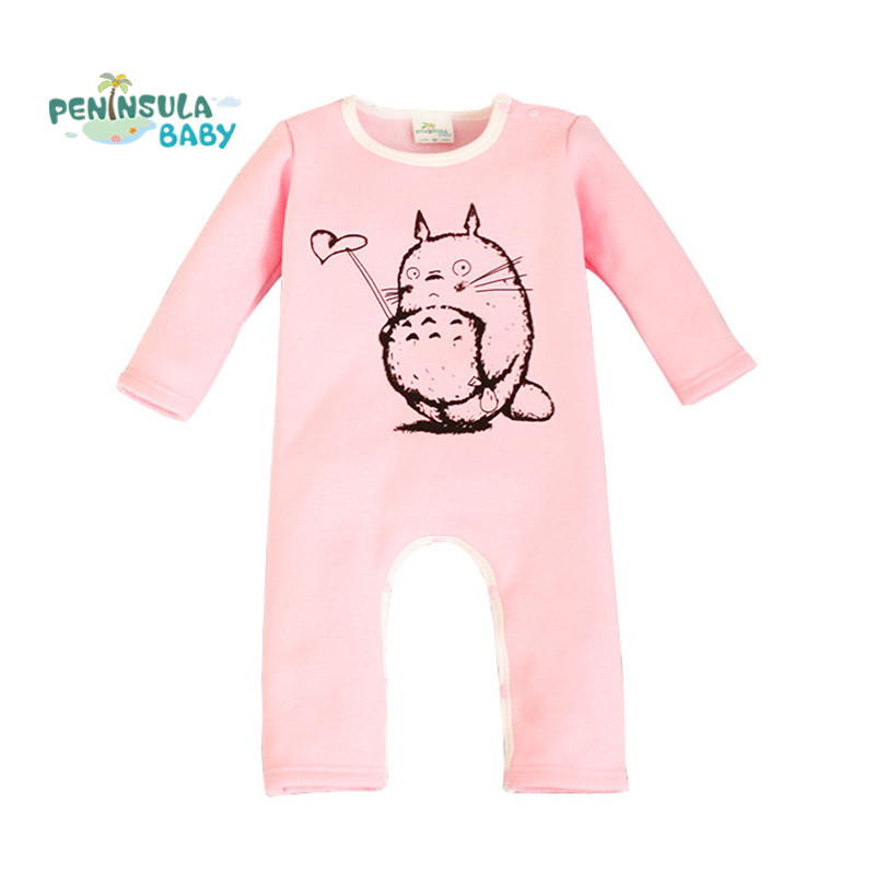 Winter Baby Clothing Baby Rompers Cartoon Totoro Newborns Body Kids Clothes Boys Girls Jumpsuit Infant Romper Cotton Clothing<br><br>Aliexpress
