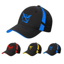 Adjustable Pokemon Go Cap Hat Team Valor Team Mystic Team Instinct Pokemon Cap Pokemon Hat Baseball Hat Cap
