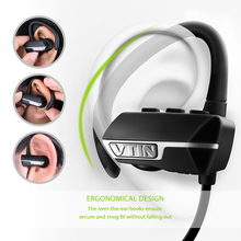VTIN Bluetooth Headphone Wireless Bluetooth 4.1 Earphone Superb APT-X Audio Stereo Music Sound w/ Mic Earbuds for iPhone Android(China)