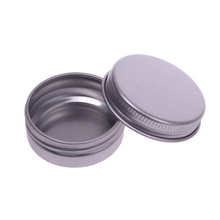 10 pcs 30ml Lip Balm Tin Nail Art Cream Pot Empty Cosmetic Containers Bottle Screw Thread #69197(China)