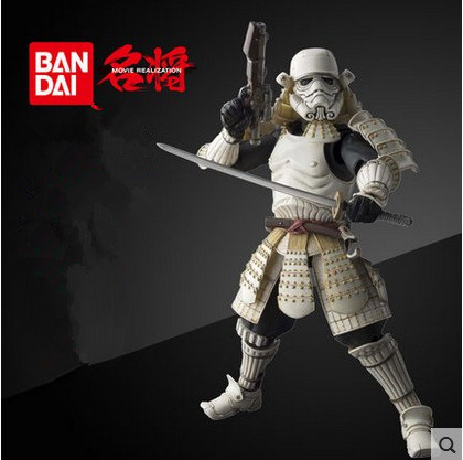 Star Wars Action Figures Stormtrooper Darth Vader Boba Fett Sic Samurai Taisho 17cm Realization Anime Star Wars Figures Toys<br>