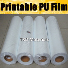 Premium Quality printable Heat Transfer Vinyl, digital printable PU transfer film with free shipping with size:50CMX25M/Roll
