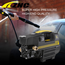 ZNC High Pressure Cleaner Car Washer 220V 80 bar High FLow 7LPM Dual-use Household Cleaning Machine High Pressure Gun(China)