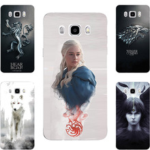 New Game Of Throne House Stark Targaryen Hard PC Painting Case For Samsung Galaxy J5 J7 2016 J510 J510F J510H J710 J710F J710H