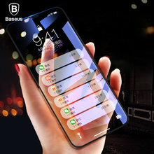 Buy Baseus 0.2mm Screen Protector iPhone X 6D Full Cover 9H Toughened Tempered Glass iPhone X 10 Front Protective Glass Film for $7.59 in AliExpress store