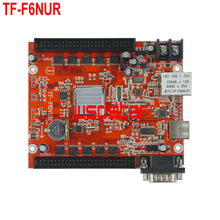 TF TF-F6NUR Ethernet+USB+RS232 port LED control card 10240*128 2*50 Pin Single & Dual color LED controller card(China)