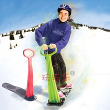 Japy Skate 2015 Winter Foldable Snow Sleds Snowboard Snow scooter skiing Car Board For Kids Toy High Quality Free Shipping(China)
