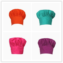 Free Shipping High quality chef Hat  Chef Hat Kitchen Cooking Hat Costume Hat chef working wear Food Service