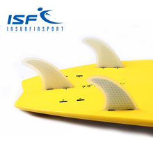 Clear surfboards fins   fiberglass paddle board fin quilhas aletas fcs surf fins