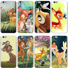 Bambi and Thumper Hard Transparent Cover Case for iPhone 7 7 Plus 6 6S Plus 5 5S SE 5C 4 4S