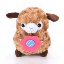 2015 New Delicate Alpaca Sheep Plush Toy Soft Stuffed Animal Toy  Unisex Kid Gift