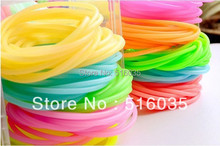 New Arrival Candy Color Silicone Elastic Hair Bands Multipurpose Fashion Hair Ring Hair Clip many colors mixed 20pieces/lot