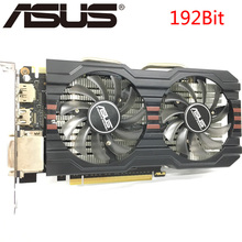 ASUS Video Card GTX 660 2GB 192Bit GDDR5 Graphics Cards nVIDIA Geforce GTX660 Used VGA Cards stronger GTX 750 Ti