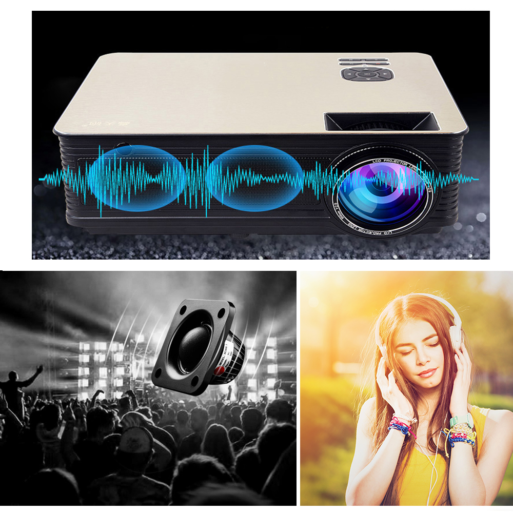 VIVICINE 5500Lumens 1080p HD LED Projector (27)