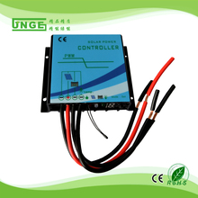 15A Solar Charge and Dischage Controller Regulator 12/24v auto IP68 Waterproof with Light and timer Control for LCD Streetlight(China)