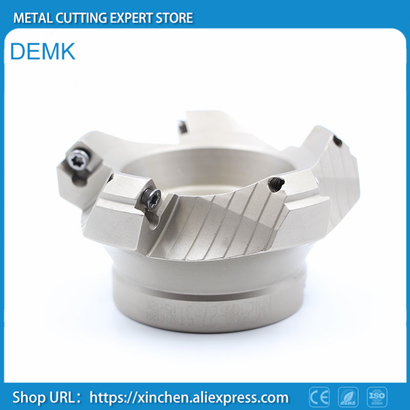Milling discs,KM12 63-22-4T,45 degree for SEKT1204/SEHT1204 Heavy cutting plane chamfering CNC Machine tools,milling machines<br>