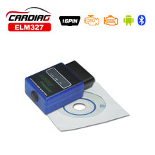 2015 FREE SHIPPING Super Mini ELM327 Bluetooth OBD2 Scanner ELM 327 Support All OBD-II Products