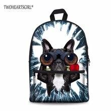 d6ff5d0feb1 TWOHEARTSGIRL Iceberg Animal Designer School Backpack Junior Middle School  Backpacking Side Pocket Rucksack Lightweight Mochila(