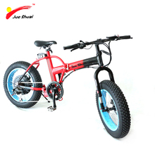 JS Lithium Battery 36v 1000w Snow Electric Bicycle Folding Electric Bike brushless Hub motor Fat e-Bicycle  Mountain Bicycle