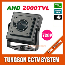 NEW Product AHD 2000TVL Micro Video Surveillance 3.7mm Pinhole Lens Security 1.0MP 1280*720P Mini CCTV Camera Free Shipping