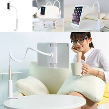 Practical Flexible Arm Table Pad Holder Stand for Lazy People Bed Desktop Tablet Mount for iPhone iPad Mini Android Phones(China)