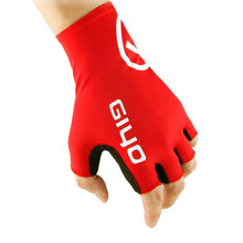 GIYO S-02 Half Finger Biking Gloves Lycra Elastic Bicycle Cycling Hand Protection Breathable Mittens Long Cuff to Cover Wrist(China)
