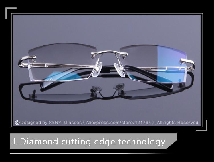 042df0fdd7 2019 New Luxury Tinted Lenses Myopia And Reading Glasses Diamond ...
