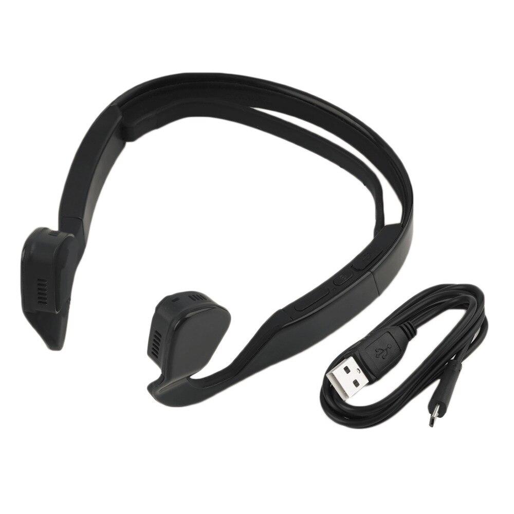 2017 Wireless Bone Conduction Bluetooth 4.0 Wireless Stereo Headset Sports Headphone Dynamic Ear Hook Earphones 100Hz-18KHz<br>