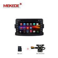 Quad Core Pure Android GPS Navigation Radio For RENAULT  Dacia Renault Duster Logan Sandero Car DVD Central Cassette Player